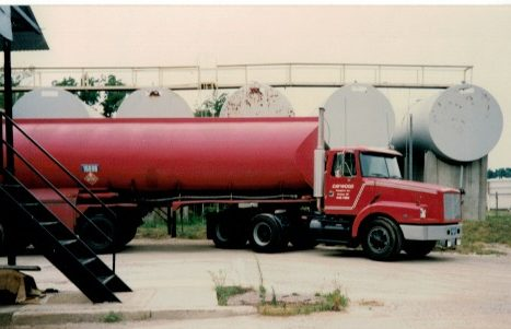 We exited our gasoline and fuel oil distributorship in 2005 to focus on propane.