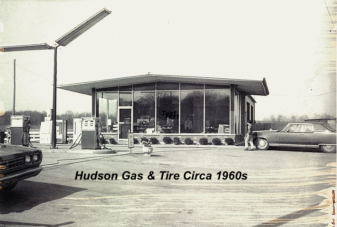 Hudson Gas & Tire with Caption